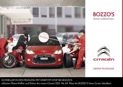 Bozzo's Mailingkarte