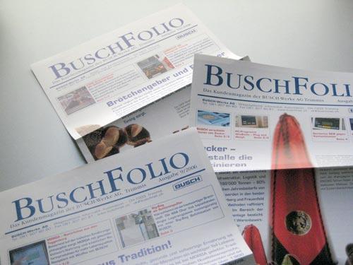 BUSCH Kundenzeitung