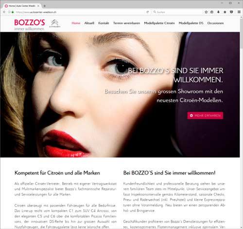 Bozzo's Website