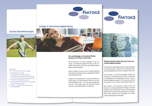 Broschüre Faktor3