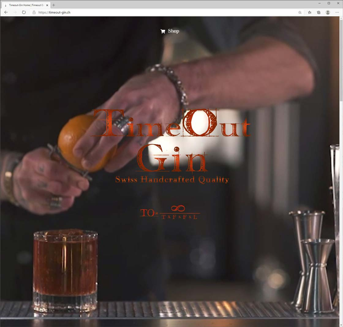Startseite-Timeout-Gin