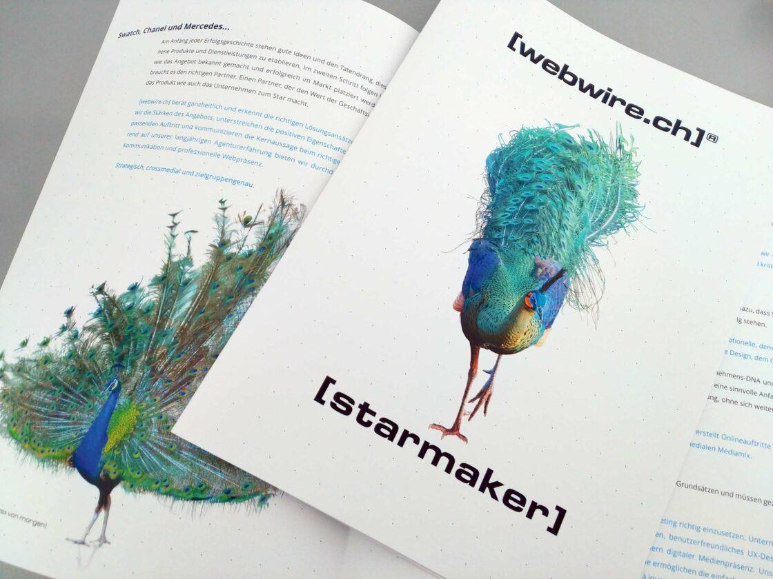 Broschüre-Starmaker