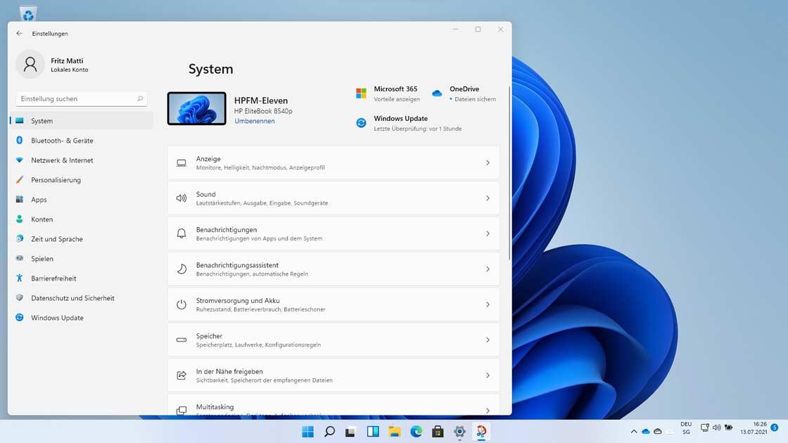Screen-Windows-11-auf-HP-EliteBook